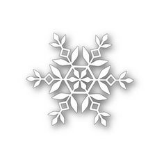 *RESERVE Simon Says Stamp KATE SNOWFLAKE Craft DIE 111309