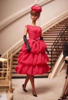 Little Red Dress Barbie Doll - Silkstone Dolls |The Barbie Collection