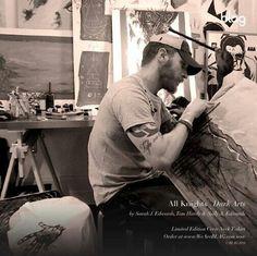 Artist TOM HARDY!!!!!