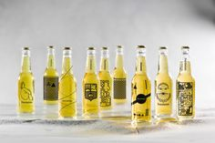 These Beer Bottle Designs Will Make You Want To Go Out And Have A Beer!   http://www.ealuxe.com/these-beer-bottle-designs-will-make-you-want-to-go-out-and-have-a-beer/