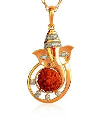 Buy Yellow Gold Ganesha Rudraksha Diamond Pendant Online: Shop from wide range of Religious Pendants Online in India at best prices. Gold Pendants For Men, Ganesh Pendant, Ganesha, Gold Chains For Men, Black Gold Jewelry, Gold Ornaments, Pendant Design, Pendant Jewelry, Wire Jewelry