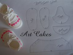 Baby Tennis Shoe Template