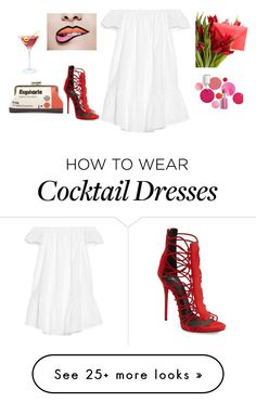 """""""Untitled #2712"""" by doinacrazy on Polyvore featuring Sarah's Bag, Giuseppe Zanotti, Elizabeth and James and Clinique"""