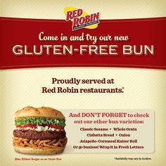Red Robin Gluten Free Menu