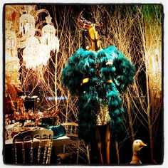 Gladiator in all things fashion, boutique window in Paris (originally taken by flanivan with Instagram)