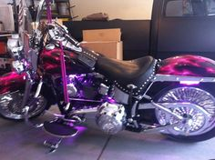 My custom 2012 H-D Softail Heritage Classic. <3 it!!