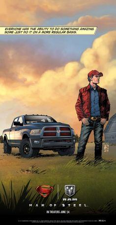 "Dodge Ram 1500 - ""Man of Steel"" Edition"