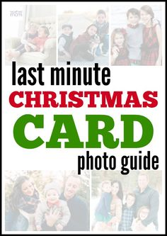 If you wait till the last minute it only takes a minute. This guide to last minute Christmas Card Photos means perfect photos in record time and is cheaper than hiring a professional. Cheap Christmas Gifts, Best Christmas Cookies, Christmas Photo Cards, Christmas Pictures, Handmade Christmas, Vintage Christmas, Holiday Cards, Christmas Holidays, Christmas Ideas