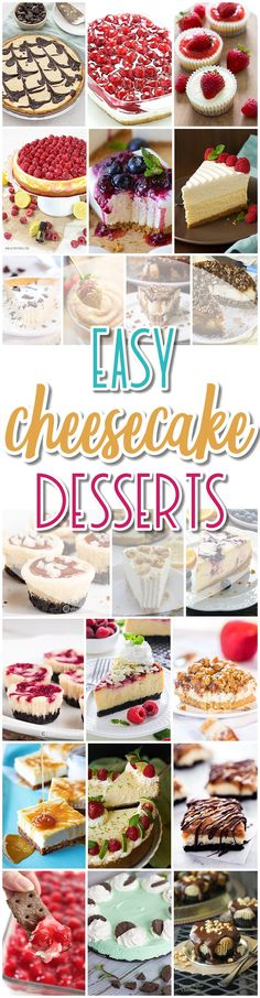The BEST Cheesecake Recipes - Favorite Easy Party Desserts for Easter, Mother's Day Brunch or any celebration - Dreaming in DIY