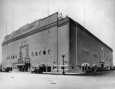 1925 - Grand Olympic Auditorium on SW corner of S. Grand Avenue and W. 18th St.  Built in 1924 by Jack Doyle, with the help of the Los Angeles Olympic committee for the 1932 Games. The grand opening of the Auditorium was on August 5, 1925, and was a major media event, attended by such celebrities as Jack Dempsey and Rudolph Valentino.