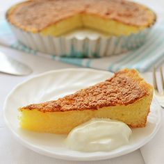 Filipino Egg Pie Recipe - classic custard dessert with eggs, sugar, vanilla and evaporated milk