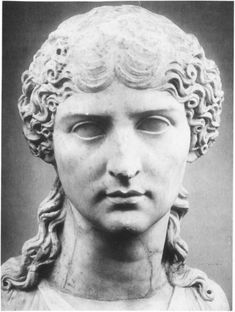 AGRIPPINA THE YOUNGER (15-59), sister of Caligula, wife of Claudius, mother of Nero, was barred from the throne due to her gender, but when it passed to Claudius, she wormed her way into marrying him to keep herself in the line of succession. The plan was successful, & Agrippina's son Nero eventually became Rome's fifth emperor, helped along according to some by Agrippina poisoning her husband once Nero was old enough to be proclaimed.