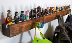 Chroble | shelves and stands for Lego minifigs