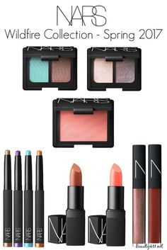 NARS Spring 2017 Wildfire Collection!