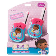 Doc McStuffins Walkie Talkies from Funstra Toys