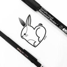 바니바니🐇 Bunny Tattoos, Rabbit Tattoos, Bff Tattoos, Mini Tattoos, Future Tattoos, Body Art Tattoos, Small Tattoos, Tatoos, Doodle Characters