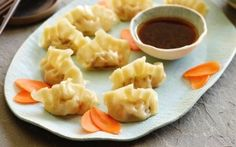 ching-he-huang recipe | prawn and chive potstickers