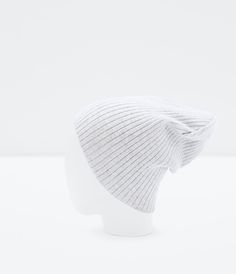 ZARA - COLLECTION SS15 - RIBBED BEANIE HAT