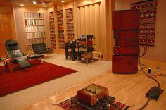 Mike Lavigne's exceptional audio room