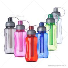 Oferecemos uma variada linha de brindes Squeeze de Plástico 600ml Tubo Congelante.