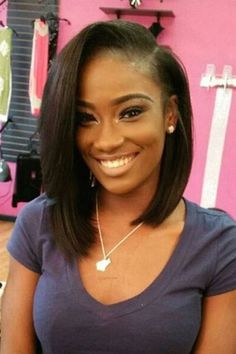 Virgin Malaysian Short Yaki Straight Bob U Part Wig Human Hair left parting 180%