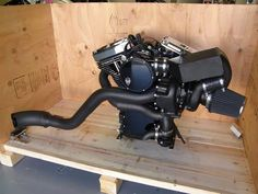 "Trask 131"" TURBO for Harley Davidson Dyna. I'd love one of these monsters!"