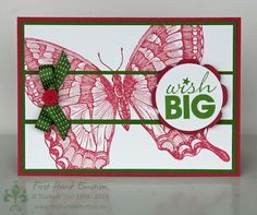 Stampin' UP! by First Hand Emotion: Swallowtail and WordPlay