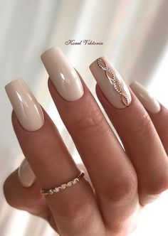 Nail Art Designs, Neutral Nail Designs, Elegant Nail Designs, Pretty Nail Designs, Neutral Nails, Elegant Nails, Stylish Nails, Trendy Nails, Pretty Nail Colors