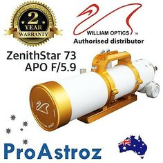 Find many great new & used options and get the best deals for William Optics ZenithStar 73mm f/5.9 Imaging APO Refractor FPL-53 ED APO Doublet at the best online prices at eBay! Computer Camera, Stereo Microscope, Smartphone Holder, Light Images, Doublet, Video Camera, Low Lights, Ebay, Camcorder