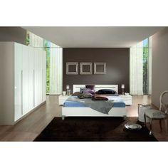 chambre coucher moderne blanche 160x200 thia une chambre a coucher moderne - Chambre A Coucher Moderne Alger