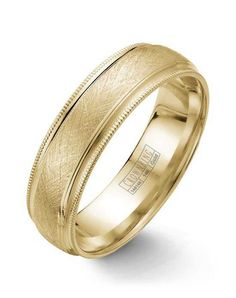 CrownRing WB-7915-M10 Gold Wedding Ring