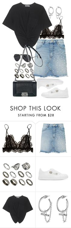 """""""Untitled #10852"""" by nikka-phillips ❤ liked on Polyvore featuring Isabel Marant, Miss Selfridge, ASOS, Versus, T By Alexander Wang, Eddie Borgo, Polaroid and Chanel"""