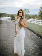 Our To Have and To Hold Lace Dress - Ivory is the perfect dress to bring in the spring season! This long dress features a high neckline with a zipper back closure. This dress is fully lined with an ivory lace overlay, a nude lining, and see-throug... Short Chiffon Wedding Dress, Wedding Dresses, Lace Dress, White Dress, Lace Overlay, Cap Sleeves, Hold On, Neckline, Ivory