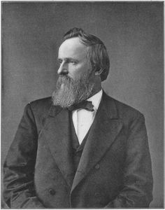 President #19 - Rutherford Hayes (1822-1893) was the 19th president of the United States. Hayes was born on October 4, 1822, in Delaware, Ohio. Hayes ended the reconstruction of the south after the Civil War. During his term as president (1877-1881) the country became more prosperous, but Hayes did not run for a second term. He died on January 17, 1893, in Fremont, Ohio.