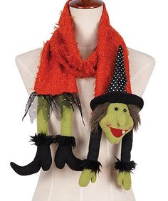 Look at this #zulilyfind! Witch Scarf #zulilyfinds