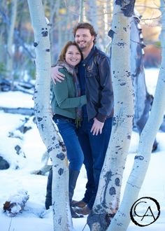 Winter Snow Wedding Engagement Photography in Truckee, Ca | by Christopher Armstrong Photography