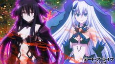 Date a live Tohka and origami Romantic Comedy Anime, Date A Life, Brave Witches, Cute Anime Pics, Kirito, Cosplay, Animes Wallpapers, Sword Art Online, Anime Art