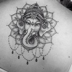 Image result for ganesh tattoo