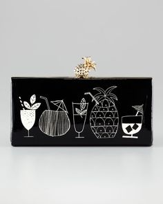 Kate Spade Tiki bar clutch... I really love this for a backyard BBQ party or a night out at a beach bar or great when on a resort vacation. It also seems like it would continue to stay in fashion past one season. $358