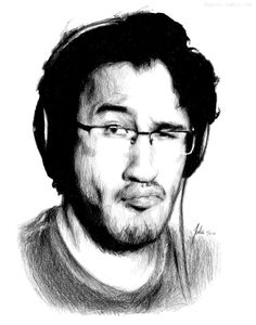 Mark Fischbach - markiplier Fan Art      This is not mine. I dont I have that kind of talent.