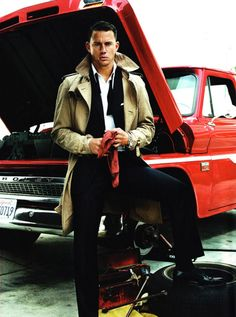 Channing Tatum in GQ, August 2009