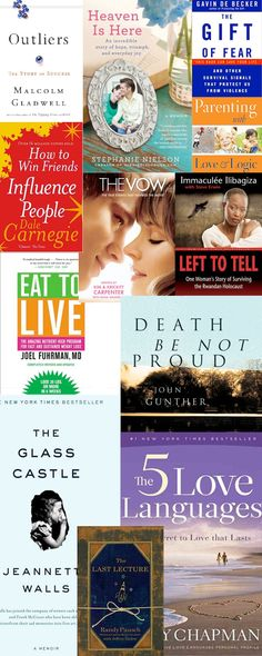 The Top Books Every Home Should Have...for every age! >> Top 10 Adult Non-Fiction. #books What's your favorite?