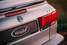Rear Image Of A '01 Saab 9-3 Convertible With Hirsch Performance Accessories