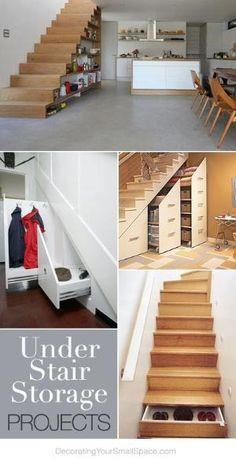 Under Stair Storage Ideas & Tutorials! by Jan Lorenc