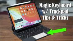 2020 iPad Pro Magic Keyboard with Trackpad - 25+ Tips and Tricks - YouTube Ipad Pro Tips, Apple Magic, Keyboard, Iphone, Youtube