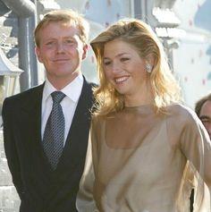Maxima au mariage de Martha Louise de Norvège