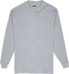John Son Men's Super Heavy Weight Long Sleeve Cold Weather Crewneck Thermal Top ** Find out more details by clicking the image : Hiking clothes Nice Tops, Cold Weather, Heather Grey, Hiking Clothes, Crew Neck, Men Sweater, Long Sleeve, Mens Tops