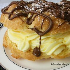 Gooseberry Patch Recipes: Giant Cream Puffs from Coming Home with Gooseberry Patch Cookbook