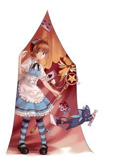 ll Sakura in Wonderland ll Anime: Cardcaptor Character: Sakura
