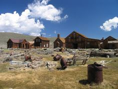 Thids place is amazing!  Bodie: Ghost town frozen in time.